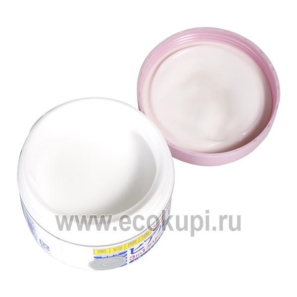 купить со скидкой японский крем для лица с гиалуроновой кислотой и коллагеном COSMETEX ROLAND, купить крем для очень сухой кожи интернет магазин Экокупи