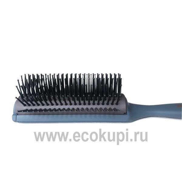 купить Японская профессиональная массажная щетка с антибактериальным эффектом Vess Blow Brush PRO-2000 средство укладки волос интернет магазин