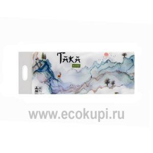 Туалетная бумага трехслойная Taka Home 10 рулонов Ecokupi | Экокупи японский интернет магазин в Москве купить хорошую туалетную бумагу дешево