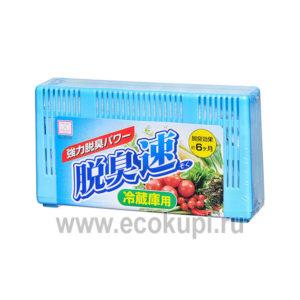 японский поглотитель неприятных запахов для холодильника угольный Kokubo Sumi-Ban купитьосвежительвоздуха капсулы - шарики с ароматом