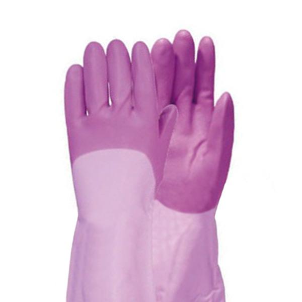 Виниловые перчатки с внутренним покрытием утолщенные ST CORPORATION Family купить влажные салфетки для уборки япония интернет магазин Экокупи