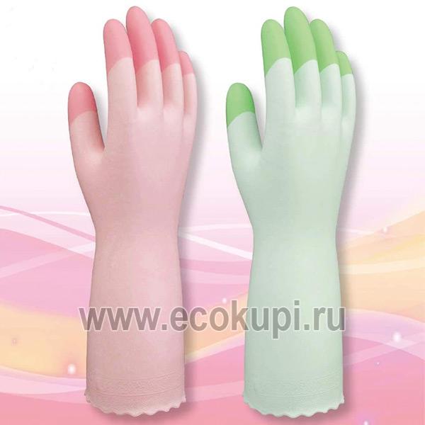 Виниловые перчатки для бытовых и хозяйственных нужд средней толщины с внутренним покрытием ST Family купить перчатки латексные хозяйственные