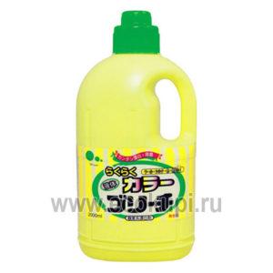 японский кислородный отбеливатель для цветных вещей MITSUEI купить средства для стирки кухонных полотенец интернет магазин Экокупи Москва