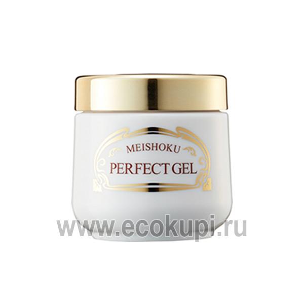 Японский увлажняющий и подтягивающий крем-гель Премиум c растительными экстрактами Meishoku Premium Perfect Gel купить увлажняющее молочко