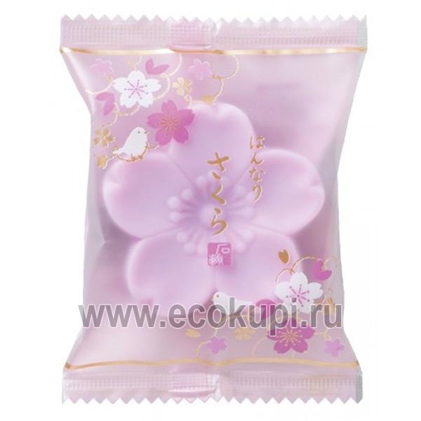 Японское косметическое туалетное мыло Цветок сиреневый MASTER SOAP купить универсальный крем кожи японские товары интернет магазин Экокупи