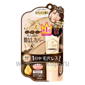 Японский увлажняющий BB крем-эссенция с лифтинг-эффектом SANA Pore Putty Essence BB Cream Moist&Lift Up купить крем увлажняющий с минералами