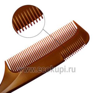 Японская расческа - гребень для укладки волос с частыми зубцами Vess Arrange Comb For Styling купить расческа щетка для волос недорого