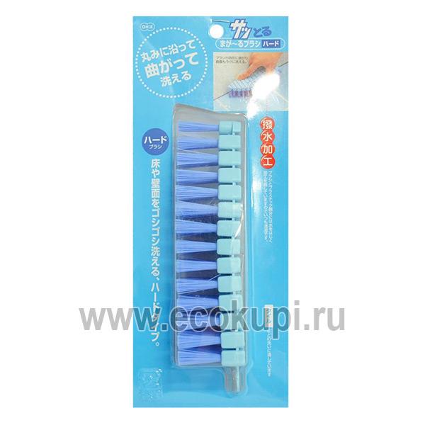Японская щетка для ванны утюжок без ручки с гибкой верхней частью OH:E Variable Brush Hard купитьнасадку для мытья стеклянных поверхностей
