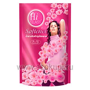 Кондиционер для белья Розовый цвет LION Thailand Hi-Class купить тайские товары интернет магазин Ecokupi Экокупи оптом и розницу с доставкой
