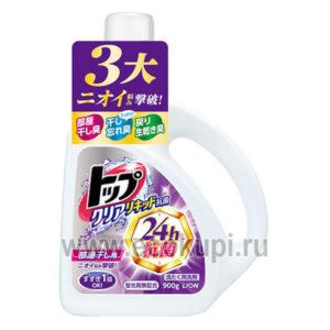 Японское жидкое средство для стирки Топ-сухое белье LION Top купить японские товары интернет магазин бытовой химии Кореи Японии в Москве