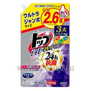 Японское жидкое средство для стирки Топ-сухое белье LION Top жидкое средство для стирки купить описание отзывы с удобными условиями доставки