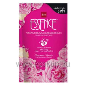 Кондиционер для белья Цветочная фантазия LION Thailand Essence Floral купитьлучшая бытовая химия Тайланд Япония Корея Европа Ecokupi Экокупи