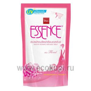 Средство для разглаживания складок и удаления запахов Цветочная фантазия LION Thailand Essence Floral купить средство для стирки сухое белье