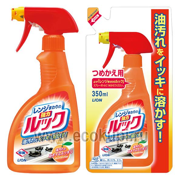 Японская жидкость чистящая для газовых и электрических плит Чистый Дом LION Look купить универсальную швабру с липучкой для пола дома и дачи