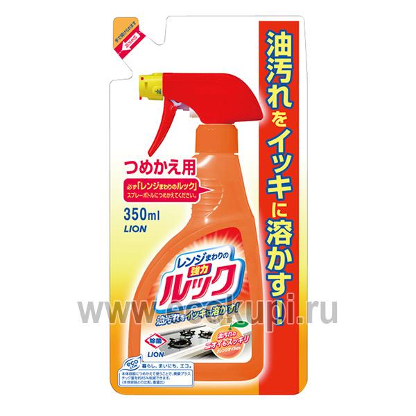Японская жидкость чистящая для газовых и электрических плит Чистый Дом LION Look купить швабру для пола дома и дачи магазин бытовой химии