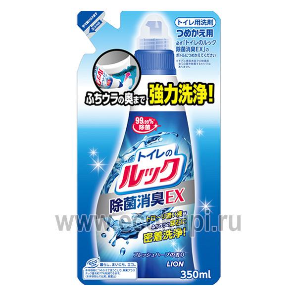 Японское чистящее средство для туалетной комнаты и унитаза с ионами серебра LION Look купитьмногофункциональную салфетку из микроволокна