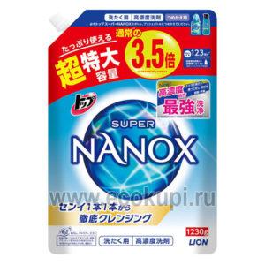 Японское жидкое средство для стирки сильнозагрязненного белья LION Top Super Nanox купить детский кондиционер-ополаскиватель опт и розница