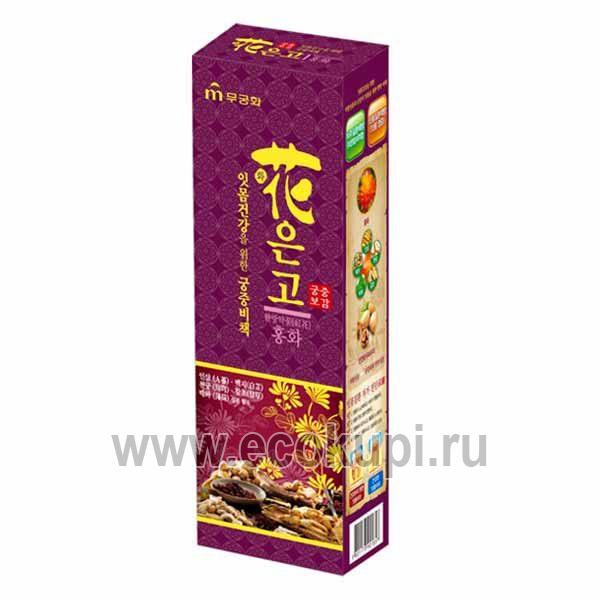 Гелевая лечебная зубная паста с экстрактом сафлора красильного Императорский рецепт с мятным вкусом зубные щетки из японии кореи купить